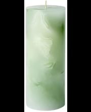 Havi 1kpl/7cmx17cm Topaasi vaaleanvihreä pöytäkynttilä 65 h