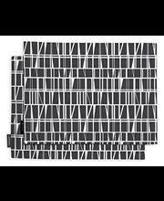 Finlayson tablettisetti Coronna musta/valkoinen 46x35/2 kpl