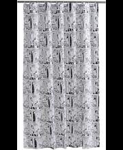 Finlaydon Rivieramuumi suihkuverho 180x200 cm