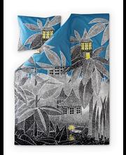 Finlayson pussilakanasetti Nyytin talo sininen 150x210+55x65