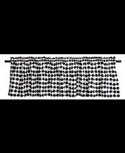 Finlayson verhokappa Pampula 50x250cm musta/valkoinen