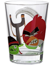 Arabia Angry Birds juomalasi 22cl Red