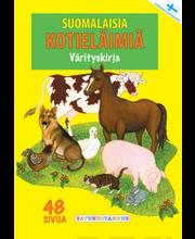 Suomal.kotieläimiä Värity