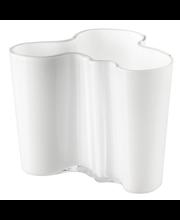 Iittala Aalto maljakko 120 mm, valkoinen