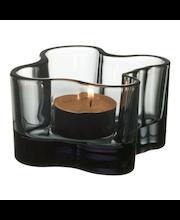 Iittala Aalto kynttilälyhty 55 mm, harmaa