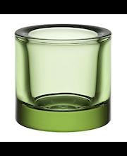 Iittala Kivi kynttilälyhty 60 mm, omenanvihreä