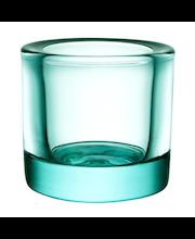 Iittala Kivi kynttilälyhty 60 mm, vedenvihreä