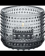 Iittala Kastehelmi kynttilälyhty 80 mm, harmaa