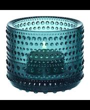 Iittala Kastehelmi kynttilälyhty 80 mm, merensininen