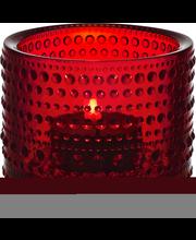 Iittala Kastehelmi kynttilälyhty 64 mm, karpalo