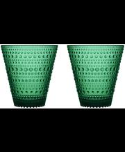 Iittala Kastehelmi juomalasi 30 cl, smaragdi