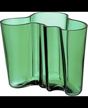Iittala Aalto maljakko 160 mm, smaragdi