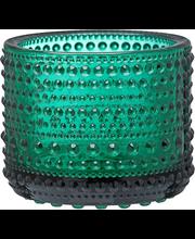Iittala Kastehelmi kynttilälyhty 64 mm, smaragdi
