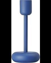 Iittala Nappula kynttilänjalka 183 mm, tummansininen