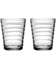 Iittala Aino Aalto juomalasi 22 cl, 2 kpl, kirkas