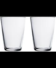 Iittala Kartio juomalasi 40 cl 2 kpl, kirkas