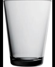 Iittala Kartio juomalasi 40cl harmaa 2kpl