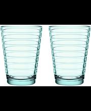 Iittala Aino Aalto juomalasi 33 cl 2kpl, vedenvihreä