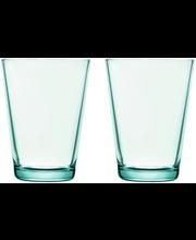 Iittala Kartio juomalasi 40 cl 2 kpl, vedenvihreä