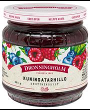 Dronningholm 440g kuningatarhillo vadelma-mustikkahillo