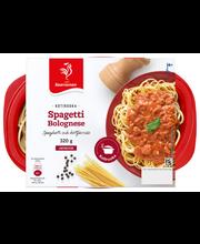 Saarioinen 320g spagettia ja jauhelihakastiketta