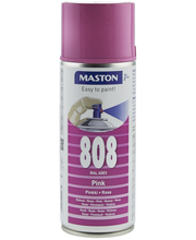 Maston spraymaali 400ml Pinkki 808, RAL 4006