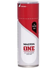 Maston spraymaali 400ml punainen RAL 3020