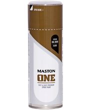 Maston Acrylcomp spraymaali 400ml ruskea RAL 8008