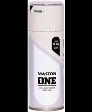 Maston Acrylcomp spraymaali 400ml Kermanvalkea, RAL 9001