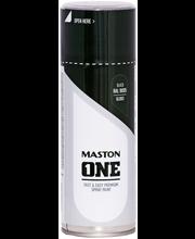 Maston spraymaali 400ml musta RAL 9005
