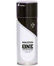 Maston spraymaali 400ml matta musta RAL 9005