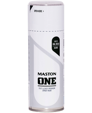 Maston Acrylcomp spraymaali 400ml valkoinen  RAL 9010