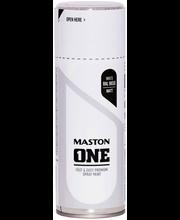 Maston spraymaali 400ml matta valkoinen RAL 9010