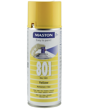 Maston spraymaali 400ml keltainen 801, RAL 1003