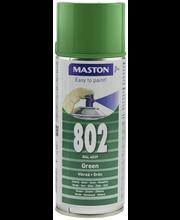 Maston spraymaali 400ml vihreä 802, RAL 6029