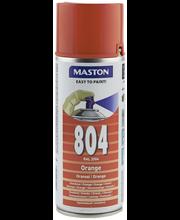 Maston spraymaali 400ml oranssi 804, RAL 2004
