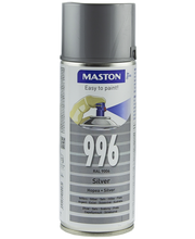 Maston spraymaali 400ml hopea 996, RAL 9006