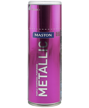 Maston Metallic  spraymaali 400ml purppuranpunainen