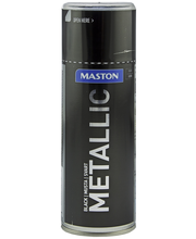 Maston Metallic  spraymaali 400ml musta
