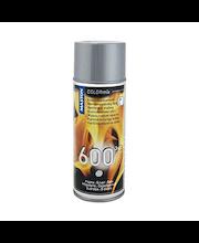 Maston kuumakestomaali spray 600C 400ml hopea