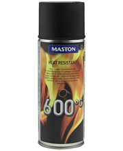 Maston kuumakestomaali spray 600C 400ml musta