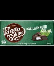 Panda Minttu 100g tummaa suklaata ja mintunmakuista täytettä