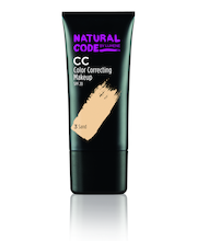 Natural Code By Lumene CC Color Correcting Meikkivoide 3 Sand 25ml