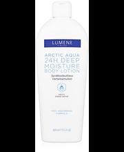 Lumene Arctic Aqua 400ml 24h Syväkosteuttava Vartaloemulsio