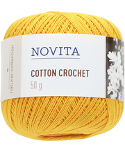 Novita Cotton Crochet 50g lanka voikukka 270