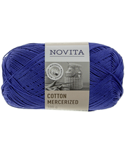 Novita Cotton Mercerized 100g väri 130