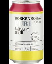 Koskenkorva PURE Raspberry Lemon 5,5% 33cl can