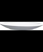 Leipälautanen Kuulas 19 cm harmaavalkoinen