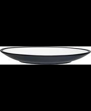 Leipälautanen Kuulas 19 cm mustavalkoinen