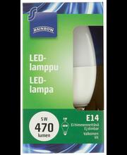 LED-lamppu 5 W E14, kynttilä